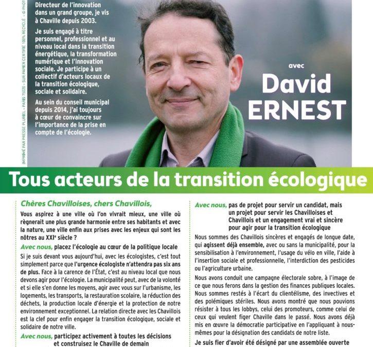 L'engagement de Chaville Écologistes