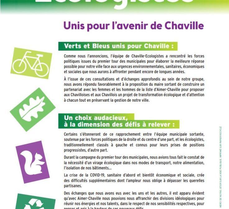 Unis pour l'avenir de Chaville