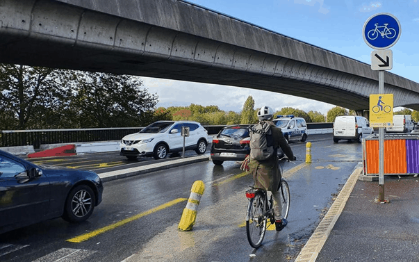 L'avenir des coronapistes dans les Hauts-de-Seine