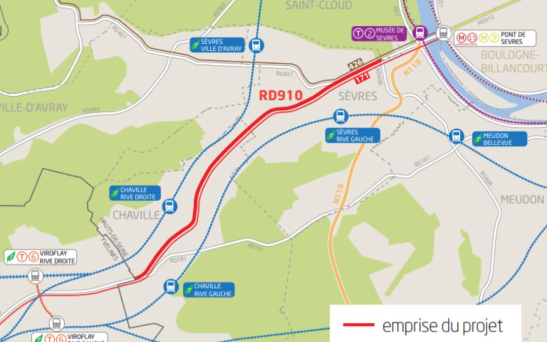 Notre avis sur la requalification de la voie royale – RD 910